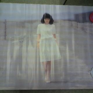昭和当時物 岩崎良美 ポスター キャニオン・レコード/PONY 浜辺