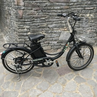 アクセル付きフル電動自転車 22インチ