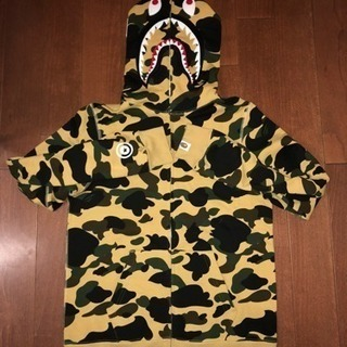 A BATHING APE 1ST CAMO SHARK FULL...