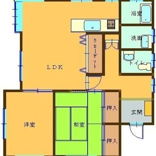八街市吉倉 2LDK 人気の平屋建て!