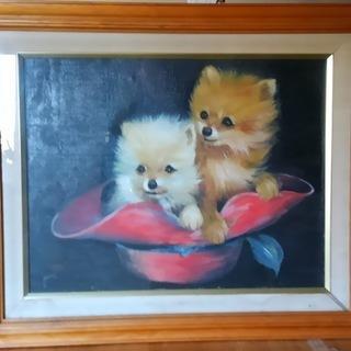 可愛いチワワ(油絵F8)里親さんを募集しています。