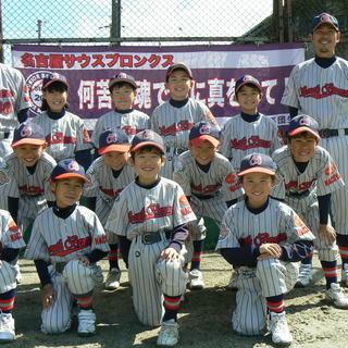 少年野球メンバー募集!野球大好き少年少女!