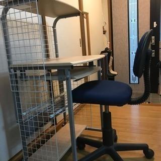 パソコンラック(椅子付き)