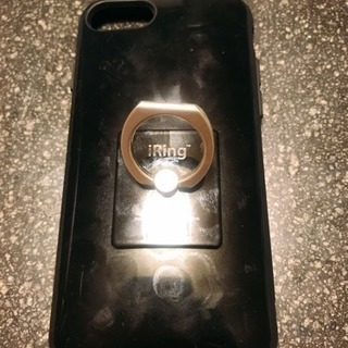 iPhone ケース バンカーリング付き