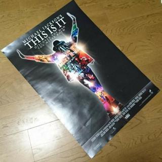 THIS IS IT ポスター MICHEL JACKSON マ...