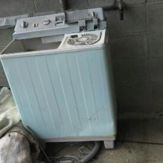 (無料❗)二層式洗濯機 ジャンク