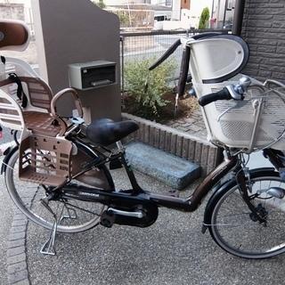 【交渉中】【使用感あり】 電動アシスト自転車 幼児同乗用 3人 ...