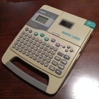 CASIO ネームランド KL-800