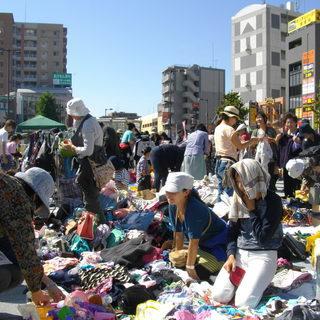 3月25日(日)「朝霞駅南口広場」フリーマーケット開催