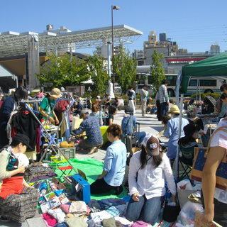 4月29日(日)「朝霞駅南口広場」フリーマーケット開催