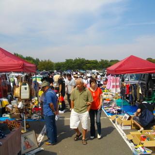 3月31日(土)・4月1日(日)「川越水上公園」フリーマーケット開催