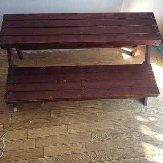 【商談中】木製 飾り棚