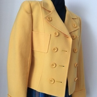 【クリーニング済】MAGGY SPORTSの秋冬物ジャケット