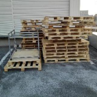 木製パレット、プラスチック製パレット