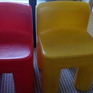 リトルタイクス 椅子 セット