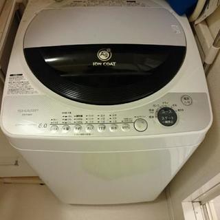 【期間限定 3/19まで】シャープ 洗濯機 6kg用(ES-FG...