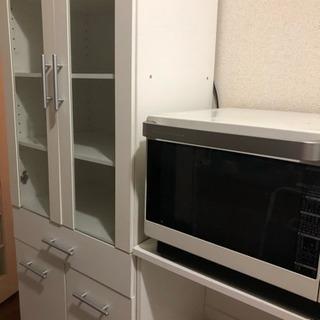 ニトリ 食器棚 レンジ台