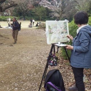 ☆3月24日(土) 新宿御苑「桜を描く」スケッチ 参加者募集中☆