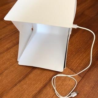 撮影ボックス(未使用)