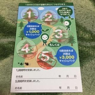 スーパーホテル  ECO泊カード