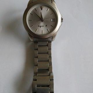 【差上げます】agnes b(アニエスベー)腕時計(男性用)