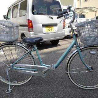 中古自転車119(防犯登録無料)ブリヂストン お買い物自転車  C...