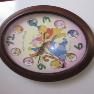 プーさんの時計