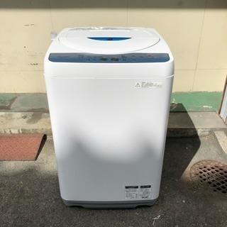 シャープ 洗濯機 5.5kg 2011年製 ES-GE55L