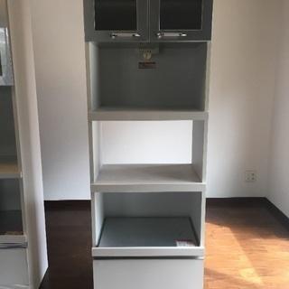 シンプルモダン食器棚(幅60cm)