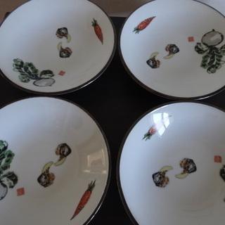 野菜の皿4枚セット