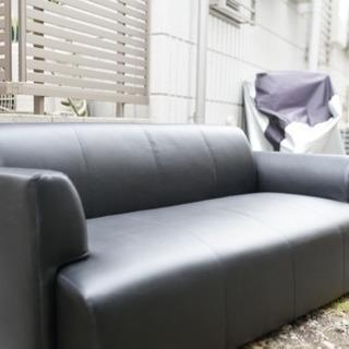 ソファ IKEA HEMLINGBY BLACK