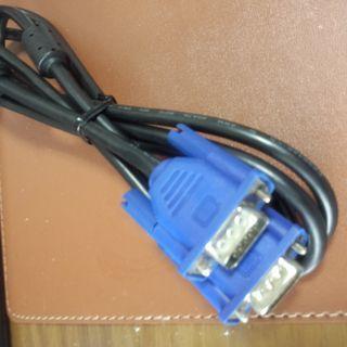 パソコンの、電源ケーブル、15ピン用モニターに繋ぐコード