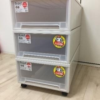 人気のフィッツケース 3箱 キャスター付き!