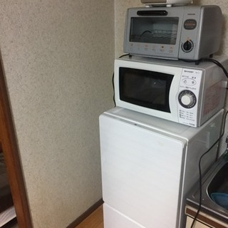 1人暮らし家具7点セットの画像