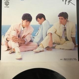 お値下げ!超レアな少年隊 EPレコード 『ストライプブルー』