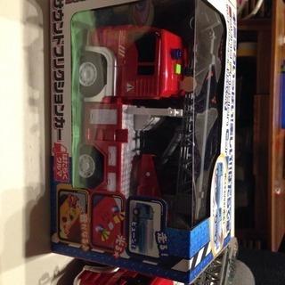 値下げします!!働く車  消防車 サウンドフリクションカー