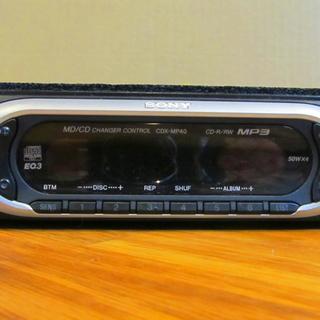 SONY CDカーステレオ MP3対応 CDX-MP40