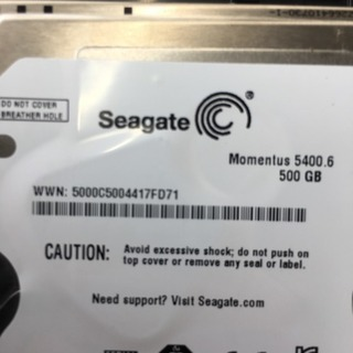 500ギガハードディスク ケース付き