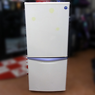 National ナショナル 135L 2ドア冷凍冷蔵庫 NR-B...