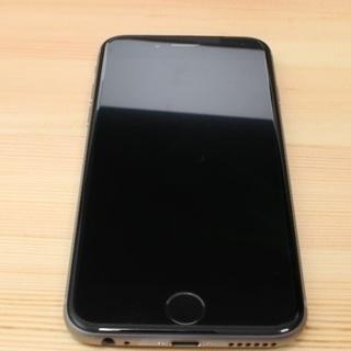 iPhone6s スペースグレイ 128GB SIMロック解除済...