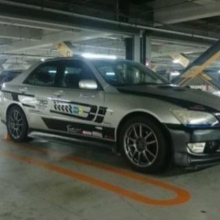車検切れH14年アルテッツァTAーGXE10 エアロ BLITzマフラー