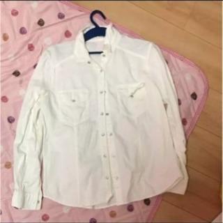 GU ホワイトシャツ Mサイズ