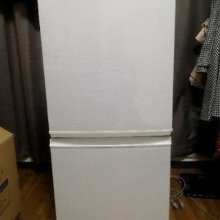 SHARP 2012年製 137L冷蔵庫 SJ-14W-W
