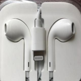 iPhone新品イヤホン