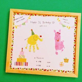 【大阪から2駅JR尼崎】手形アート5月1 1日