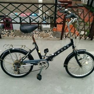 シマノ6段変速 折畳み自転車