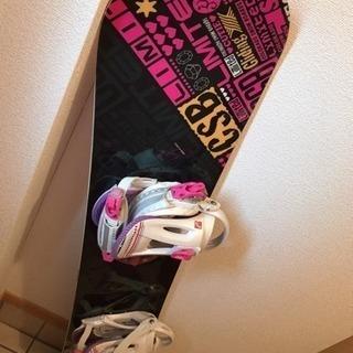 スノボード板
