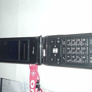 au携帯電話 東芝T003