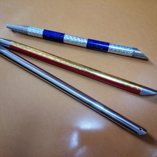 真鱈釣り用のシャクリ棒 3本 ※中古