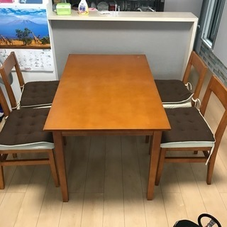 5点セット☆ダイニングテーブル